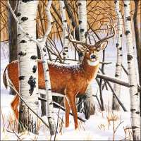 Art.No.71379- Салфетки Deer in Forest от