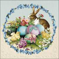 Art.No.71467- Салфетки Easter Egg Wreath от