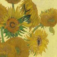 Art.No.13311800- Салфетки Van Gogh Sunflower  от