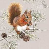 Art.No.33313445- Салфетки Squirrel In Winter  от