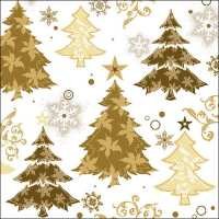 Art.No.71807- Салфетки Design Trees Gold 33305245 от