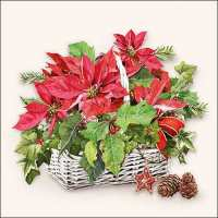 Art.No.71847- Салфетки Poinsettia In Basket 33313395 от